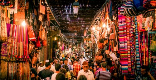 Places to visit in Marrakech: Marrakech Souks