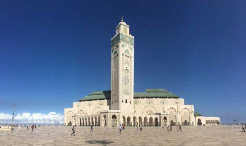 Morocco Tours: Casablanca Hasan II mosque