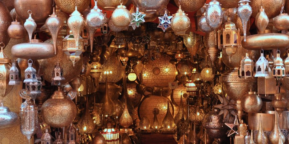 moroccan traditional lamps and lanterns