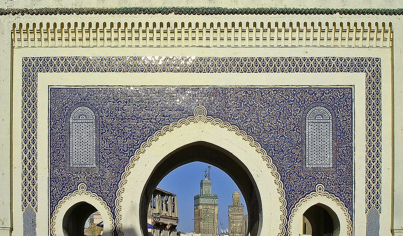 architecture morocco trip