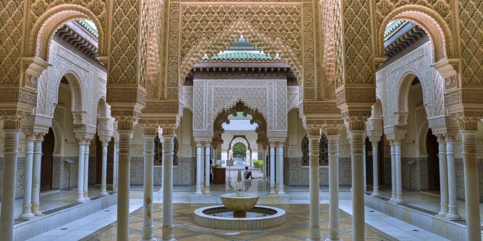morocco architecture self guided walking tour