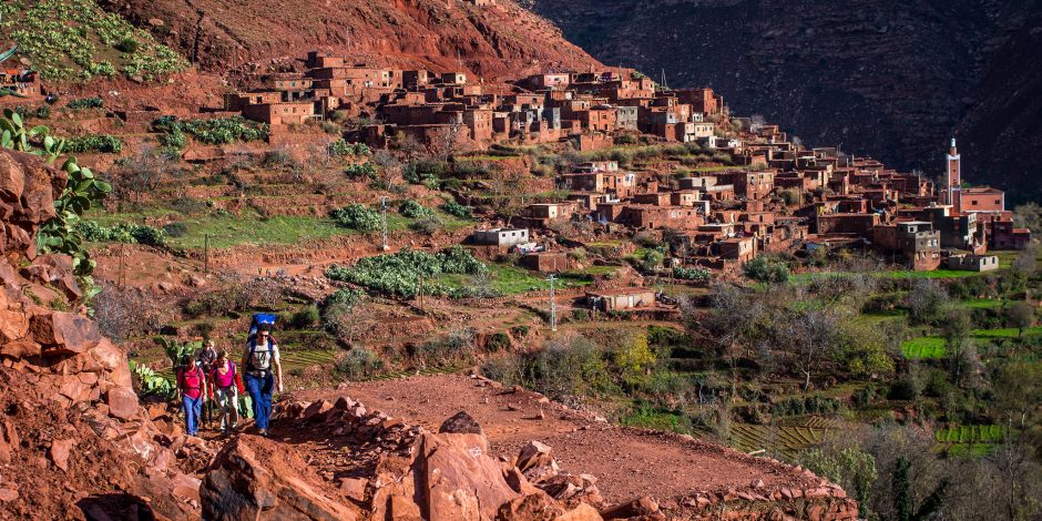 imlil atlas mountains trek