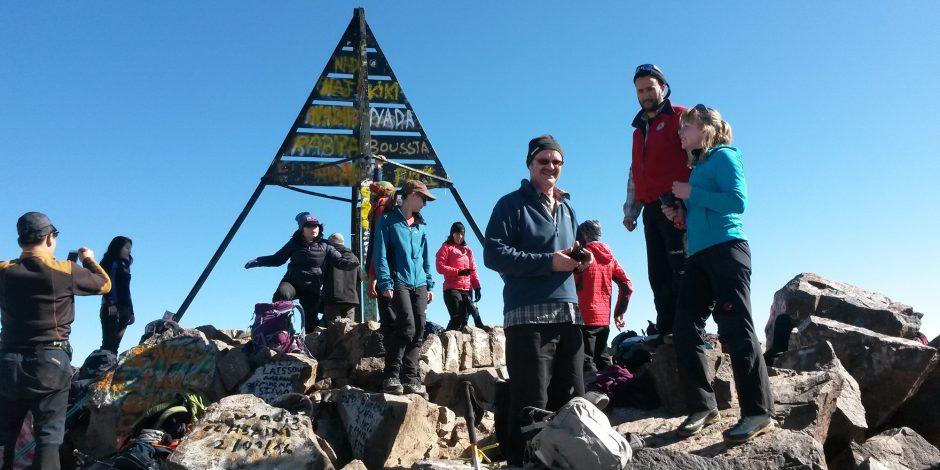 toubkal summit trekking